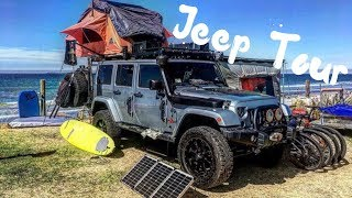 A TOUR THROUGH OUR JEEP WRANGLER OVERLAND VEHICLE // PART 1