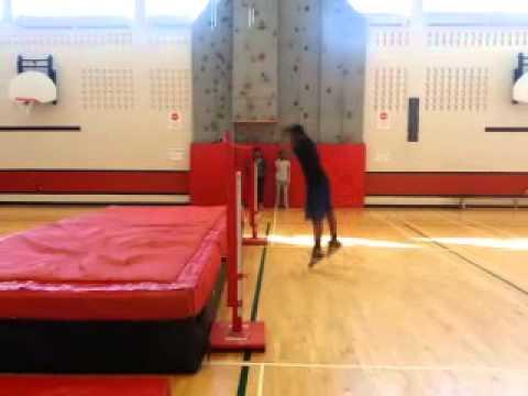 SLSS High Jump Practice Day 1