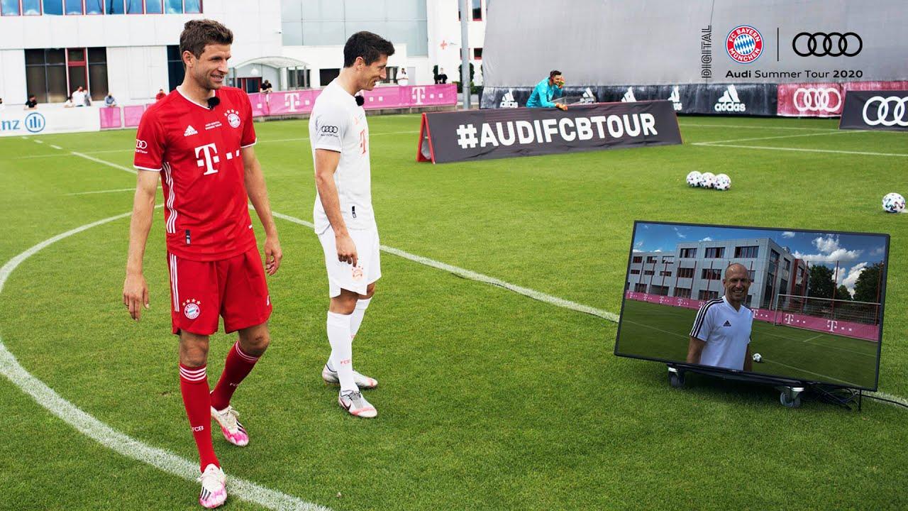 Lewandowski vs. Müller | Copy the Penalty Challenge