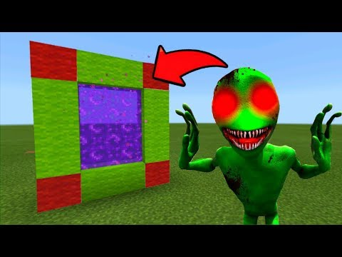 Minecraft Pe How To Make A Portal To The DAME TU COSITA.EXE Dimension - Portal To DAME TU COSITA.EXE