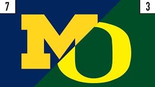 7 Michigan vs. 3 Oregon Prediction | Who