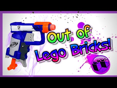 Nerf Jolt Made Out of LEGO Bricks!