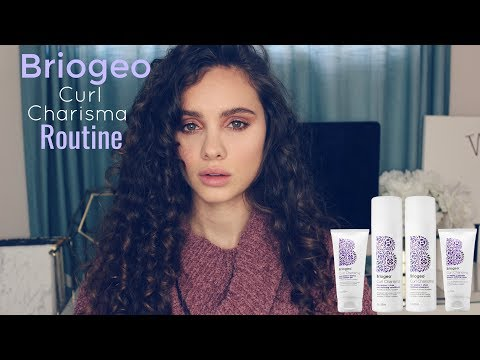 Briogeo Curl Charisma Routine and Review
