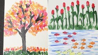 Thumb Painting Videos 9videos Tv