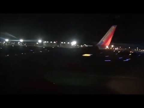 HD | Late Night Southwest 737-700 Full Flight From Phoenix to San Diego