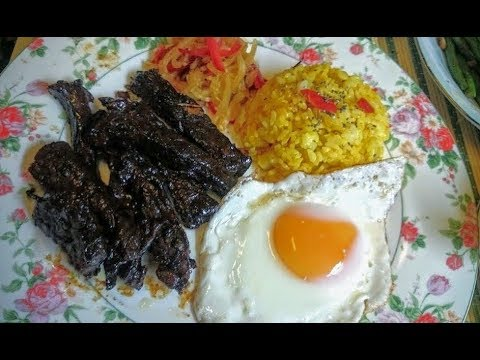Simple Beef Tapa for