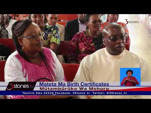 Mateta Ma Birth Certificates