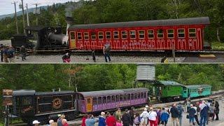 Mt. Washington Cog Railway 8/18/16