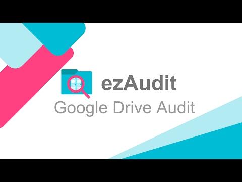 Audit Google Drive for G Suite - ezAudit