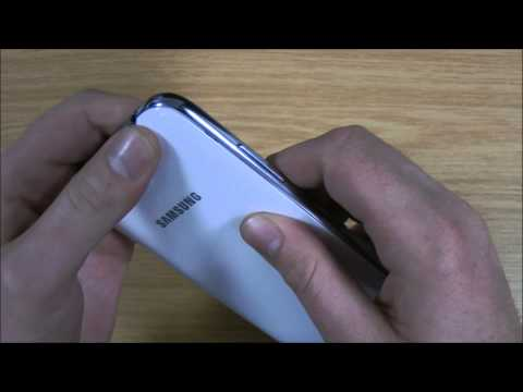 Samsung Galaxy Note 2 Removing Back Cover
