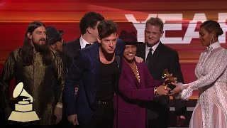 Download Mark Ronson & Bruno Mars | Record of the Year | 58th GRAMMYs Video