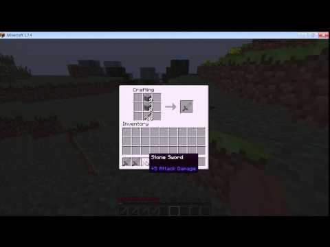 Stone Sword Minecraft