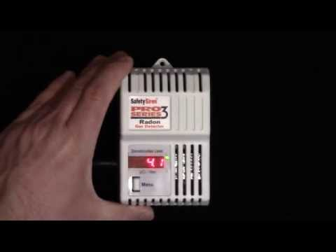 Radon Gas Detector Pro Series 3 by Safety Siren Review