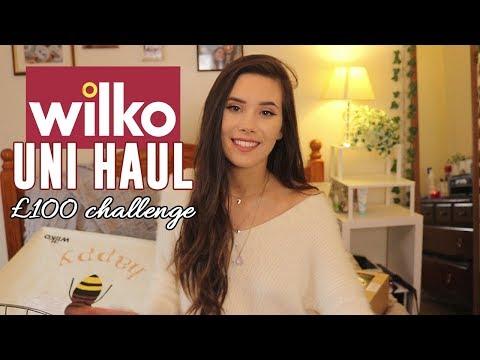 Wilko University £100 Challenge // HAUL