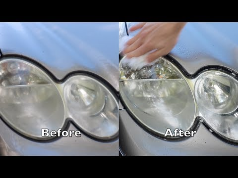 How-To: Clean your Headlights With Toothpaste (EASY)