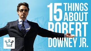 15 Things You Didnt Know About Robert Downey Jr