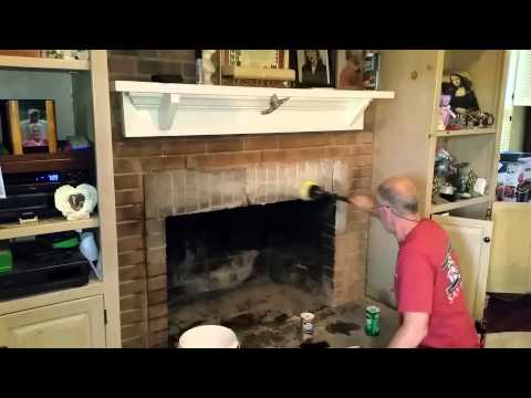 Cleaning Creosotes off Brick Fireplaces a easy hack