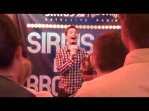 Rory O'Malley singing Band Geek Song-Sirius Radio Live on B'way