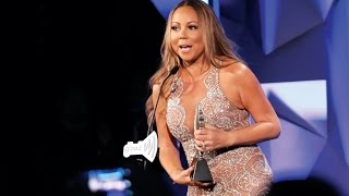 Mariah Carey Accepts the Ally Award at the #GLAADAWARDS