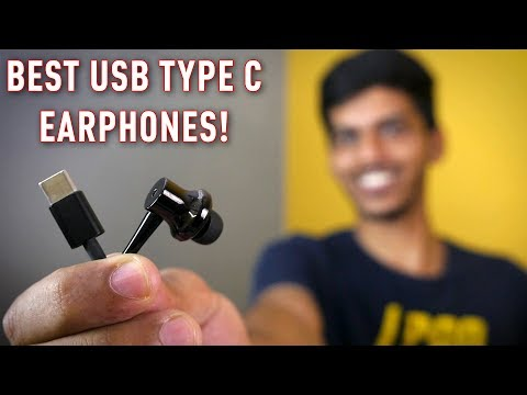 USB type C earphones with Noise cancellation at just Rs 2,999!