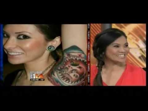 Dr. Sandra Lee Talks about Tattoo Regret on Fox Studio 11 (06/08/12)