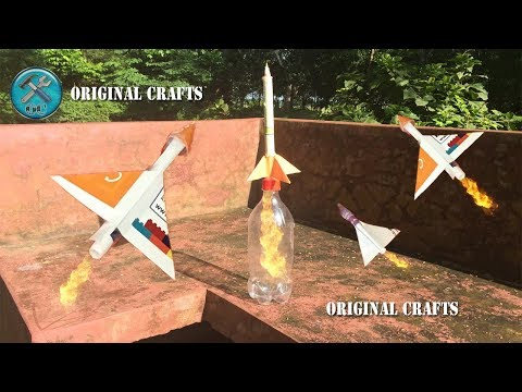 How to Make a Paper Rocket Launcher That Shoots Paper Rocket