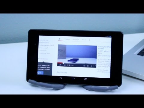 How To Install Adobe Flash Player on New Nexus 7 FHD 2013 4.3 Jellybean