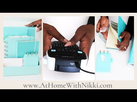 HOME ORGANIZING | Organize With Me | Spring Inspired Home Management System