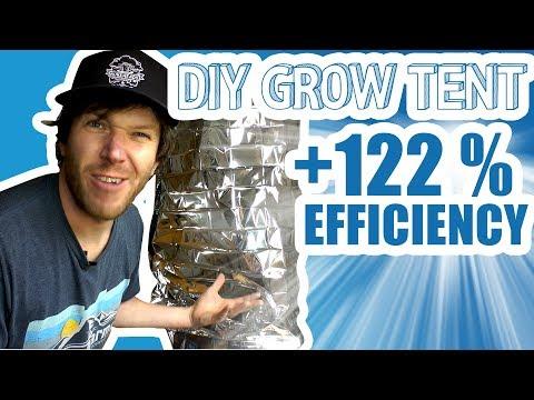Cheap DIY $2 Grow Tent!