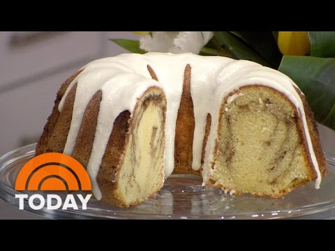 Make This Mouthwatering Cinnamon Roll Pound Cake | TODAY