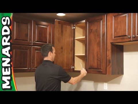 Kitchen Cabinet Installation - How To - Menards