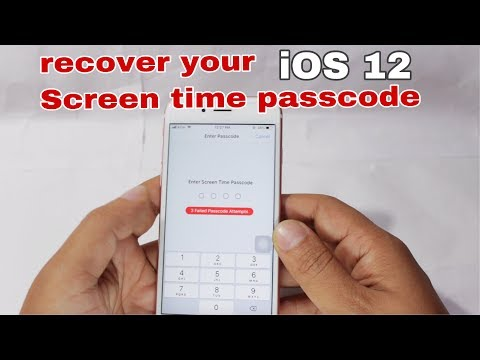 How to remove restrictions or Screen time passcode on all iOS