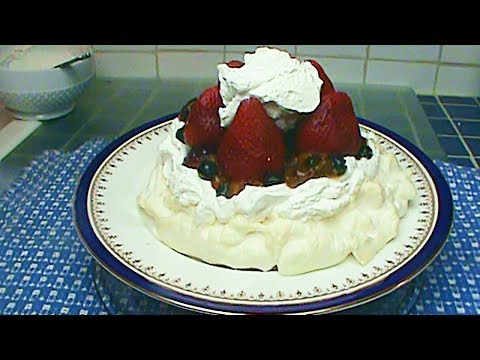 Pavlova, No Sugar Added or With Sugar - Your Choice