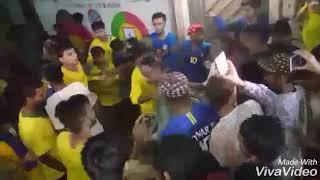 Celebration of Brazilian fans in Lyari after match 27 June 2018