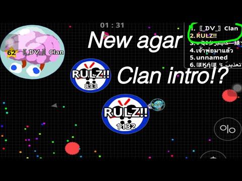 NEW CLAN INTRO( agario)