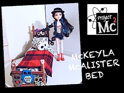 HOW TO MAKE A BED FOR A PROJECT MC2 MCKEYLA MCALISTER DOLL