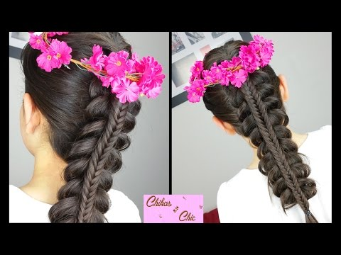 Stacked Fishtail Braid | Hairstyles for school | Easy Hairstyles | Cute Girly Hairstyles
