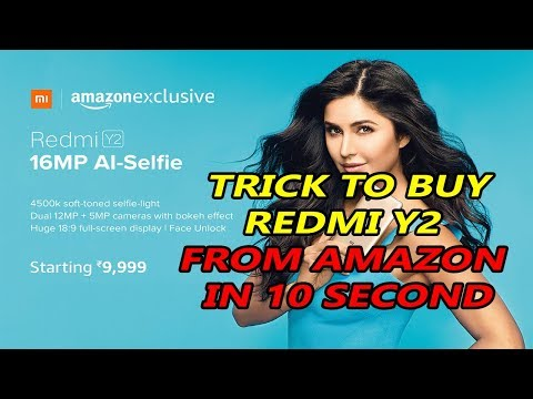How To Buy Redmi Y2 From Amazon Flash Sale । Book In 10 Second ।