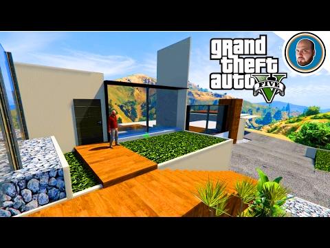 GTA 5 MOD Costruire una villa moderna #2 (creare garage e ingresso)