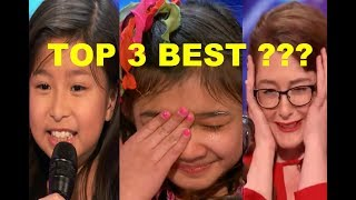 "Top 3 BEST ""GOLDEN BUZZER & STANDING OVATION"" Singers! - America"