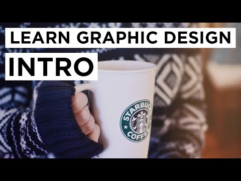 Learn Graphic Design (photo and video editing)