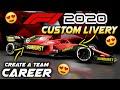 F1 2020 39CREATE A TEAM39 CAREER Help Choose My Design For My Team Using 201939s Custom Liveries