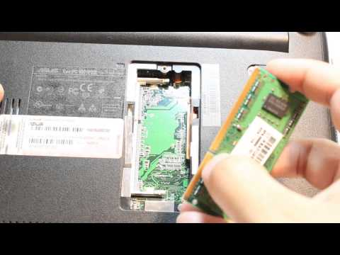 ASUS Eee PC Ram DDR memory replace