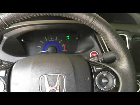 2014-2015 Honda Civic CVT Fluid Change