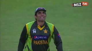 Brilliant over by Junaid Khan against soth africa.