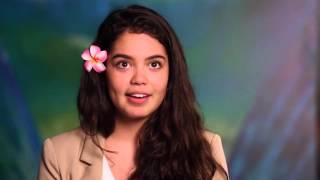 Moana | introducing Auli'i Cravalho (2016) Disney
