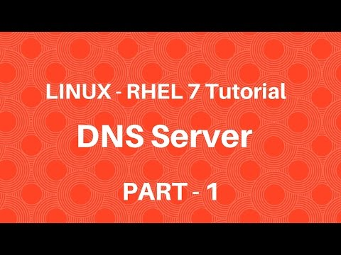 Linux in Hindi - RHEL 7 - DNS Server - Part 1 - Seven Layer Technologies