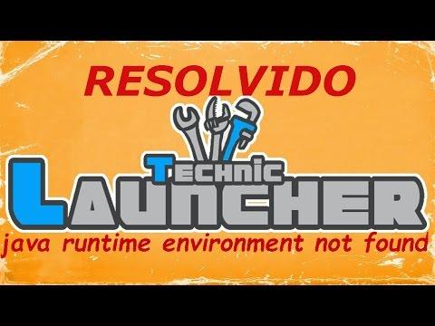 LINK ATUALIZADO Tutorial Como Resolver:Java Runtime Environment Not Found