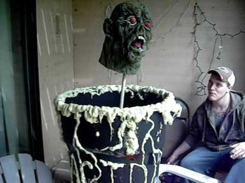 Halloween prop animatronic