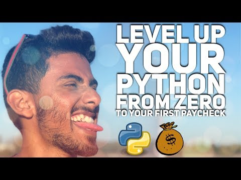 LIVE: Level Up Your Python From Zero to Your First Paycheck